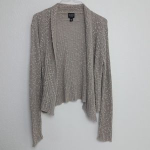 Eileen Fisher PM Petite Open Front Cardigan KNIT